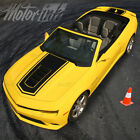 2014 2015 Chevy Camaro Convertible Solid Center Rally Stripes SS Hood Trunk