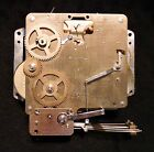 HOWARD MILLER 340-020 CLOCK MOVEMENT 2 JEWELS UNADJUSTED WEST GERMANY