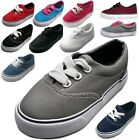 NEW Baby Toddler Infant Canvas Lace Up Sneaker Shoe Size 4 9 Boys Girls Unisex