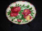 SAKURA ONEIDA SONOMA FRUITS Apple Salad Plate (s) Stoneware Multi Color