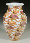 Common Ground Pottery Fan Flowers vase, Eric Olson, art pottery, arts and craft