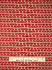 Nautical Fabric - Anchor Red Ship Sail Anchors Away Red Rooster #25431 - Yard
