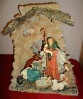 NATIVITY Holy Family The First Christmas House of Lloyds 1 piece resin w Box