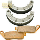 Front Rear Brake Pads shoes HONDA VT 1100 C Shadow Spirit VT 750 Shadow VF 750 C