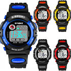 Kids Child Boy Girl Waterproof Multifunction Sports Electronic Watches Kids Gift