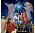 Poster Print Wall Art entitled Nativity Collage