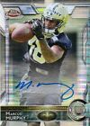 2015 Topps Chrome Marcus Murphy Pulsar Refractor Rookie Autograph Auto RC 07 15