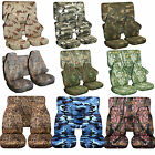 1989 1997 Geo Tracker Camouflage Seat Covers Canvas Front  Rear Choose color