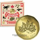 Canada 2016 O Oh Canada 5 Coin Mint Gift Set with Maple Leaf 1 Loonie Dollar