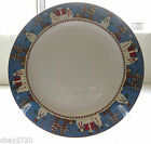 "PRE-OWNED SAKURA GENUINE STONEWARE DINNER PLATE ""SNOWMAN"" BY DEBBIE MUMM"