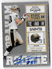 2010 Playoff Contenders Jimmy Graham AUTO RC SN# 358 New Orleans Saints Seattle
