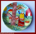 HUGE NINO PARRUCCA DESIMONE STYLE WOMAN WALL DECOR PLATE BOWL ITALY 14