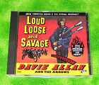 Davie Allan/Davie Allan & the Arrows CD Loud, Loose & Savage   (CD, Jan-1999)