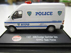 NYPD NYC New York City Police 1:87 Sprinter THV Command Post Van HO Scale
