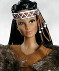 YEPA WINTER PRINCESS 17 Native American Vinyl Doll SANDRA BILOTTO NEW N BOX