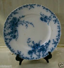 Vintage Royal Semi-Porcelain Decor Plate w. Blue Floral Designs (ENGLAND) 10