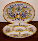 ANTIPASTI SET DERUTA ITALY Raffaellesco 8 PCS WITH TRAY