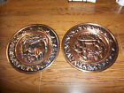 Copper Wall Plaques, Set of Two (2), Coppercraft Guild, 13