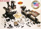 Sherline 6200-CNC Ultimate Machine Shop + CNC driver Box + 5 motors MACH3 ready
