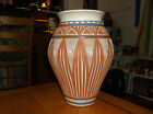 GARY CHILDS N.C. HAND MADE TERRA COTTA CLAY POTTERY VASE PLANTER 13 1/4