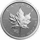 2016 Grizzly Bear Privy 1oz Canadian Silver Maple Leaf Reverse Proof 50k Mintage