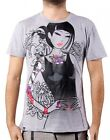 MONORAIL Tee TKDK M medium sexy girl tattoo TOKIDOKI Mens Adult Tshirt