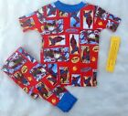 NEW Youth Marvel Spiderman 2 pc Red Pajamas Pants Set Size 10