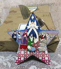 JIM SHORE HEARTWOOD CREEK COLLECTION NATIVITY STAR HANGING ORNAMENT