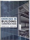 EXERCISES IN BUILDING CONSTRUCTION - 5TH ED - 2009 - EDWARD ALLEN