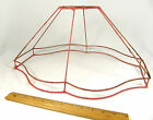 Lamp Shade Wire Frame Vintage for Floor Lamp Large Antique Victorian Fancy Oval