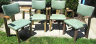 Lot of 4 Thonet bent wood chairs mid century dining Cool!