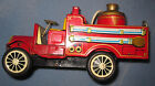 1920's Old Smoky Firetruck - Tin Friction - Cragstan Toys - Made in Japan