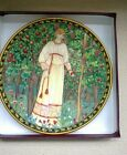 Royal Worcester plate  WILLIAM MORRIS ORCHARD Tapestry, from PAST TIMES ENGLAND