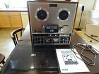 Vintage AKAI GX 285D reel to reel with Dust coverJack  Manual Sounds Great