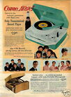 1965 PAPER AD Record Player The Beatles Dion Hermans Hermits Gene Pitney Pepsi