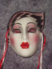 CLAY ART CERAMIC MASK.....ELECTRA....EXTREMELY RARE!