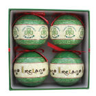 Celtic Collection 4 Pack Of Christmas Baubles