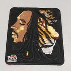 """BOB MARLEY/LION OF JUDAH 4""""X 3"""" EMBROIDERED PATCH SEWN ON/IRON ON"""