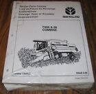 TX66 Combine Parts Catalog Manual 5006622 Issued 1995  NEW