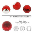 Genuine Swarovski 4869 Faceted Disco Ball Fancy Stones Crystals Many Colors