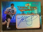 2012 PRESS PASS SPORTS TOWN LUKE KUECHLY ON CARD RC ROOKIE AUTO AUTOGRAPH #d 199