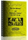 Caterpillar 163 Hydraulic Control Service Manual (S/N 38F1 +)