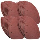 40 x Mouse Sanding Sheets to Fit Black and Decker Detail Palm Sander All Grades