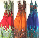 PLUS SIZE Women Long Maxi summer beach hawaiian Boho evening party sundress #1
