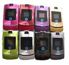 Original Motorola RAZR V3i Multi Colors Unlocked Cellular Phone Free Ship
