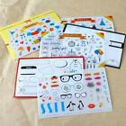 6 sheet Happy birthday party scrapbooking planner calendar albums diary stickers
