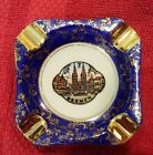 2- Vintage Plankenhammer Floss Bavaria Germany Ashtray Trinket Dish