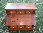 VINTAGE WOOD AMERICAN COUNTRY KLING KITCHEN SERVER BREAD CABINET POTATO BIN