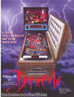 BRAM STOKER'S DRACULA By WILLIAMS 1993 ORIGINAL NOS PINBALL MACHINE SALES FLYER