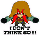 Yosemite Sam Decal is 4 x 5 in size